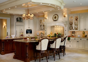 This award-winning kitchen is one of the many designs we feature on Pinterest.