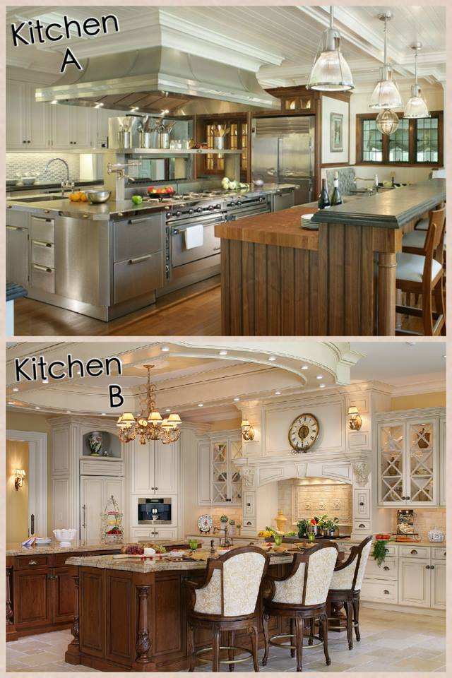 Contemporary or traditional: which kitchen should we feature?