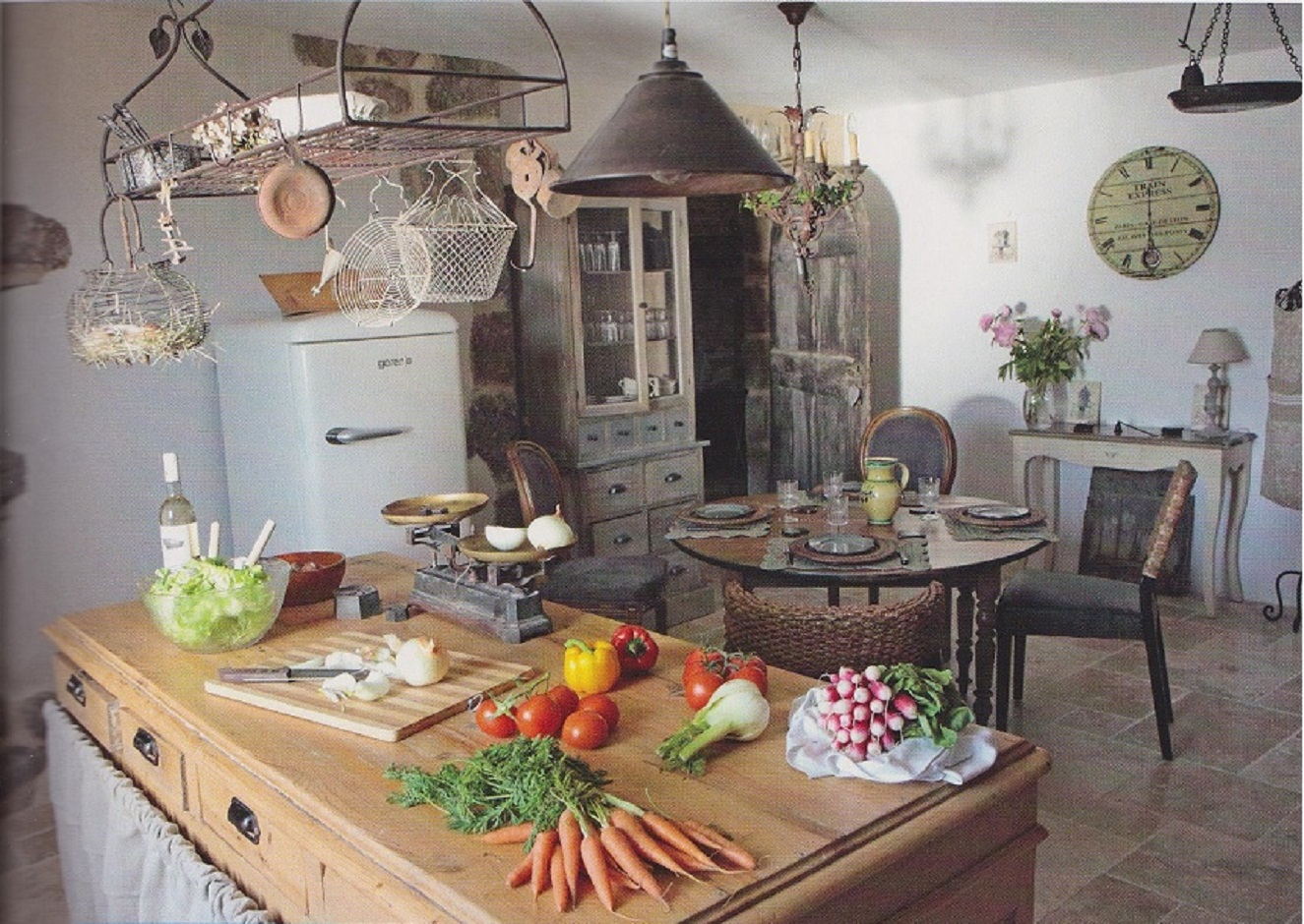 a recent trip to france inspired peter salerno with some remarkable kitchens - Kitchen In French