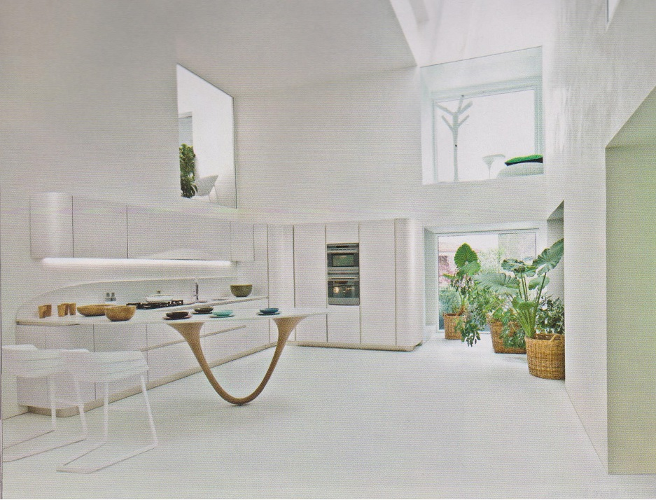 this beautiful kitchen by snaidero features italian and french blended designs