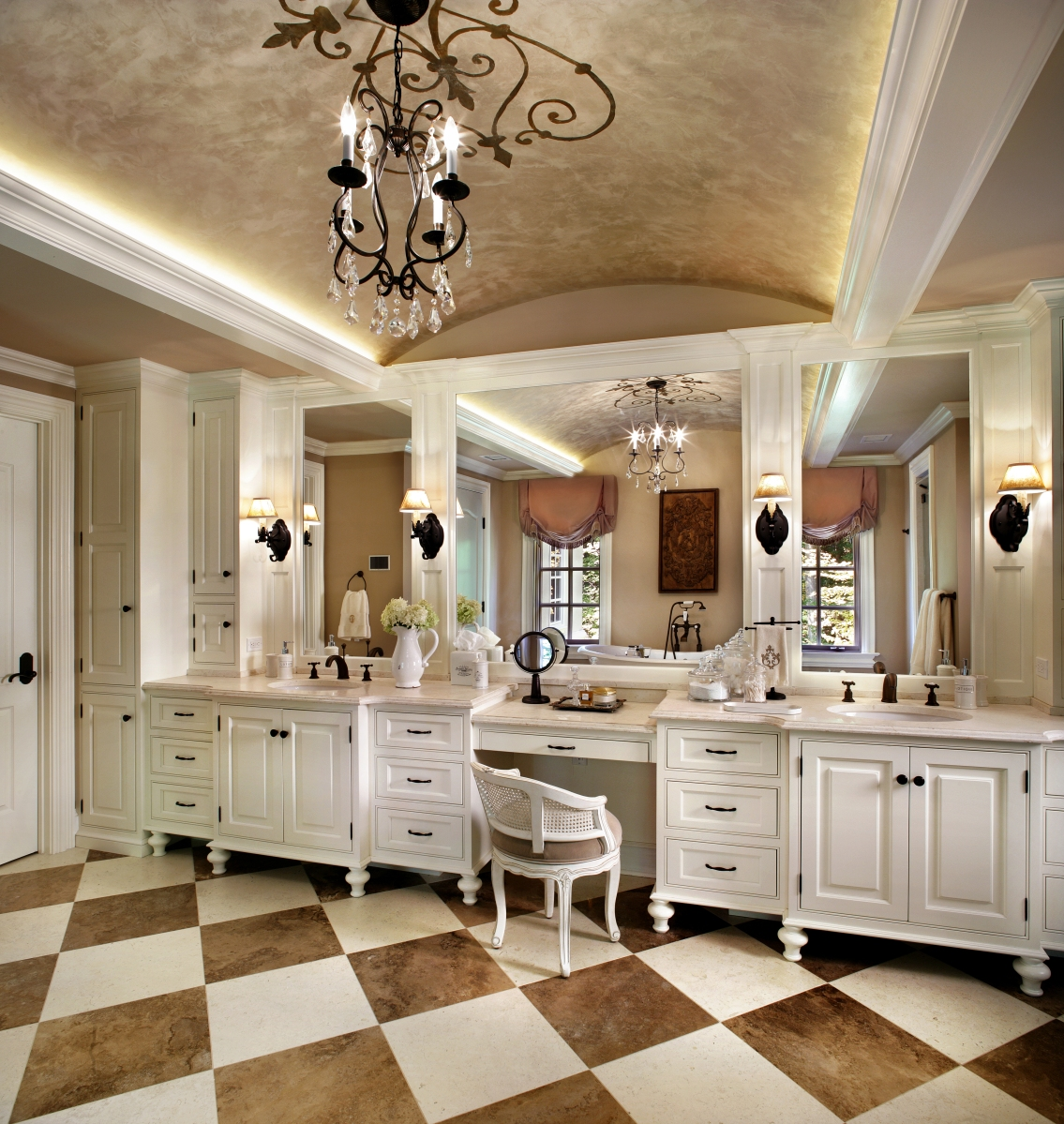 Inspirations for French Bathroom Design