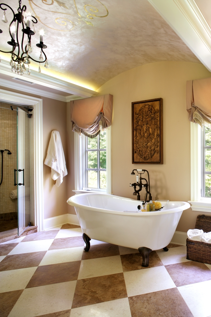 Alternate view of our French-inspired 1st place best bath design winner.