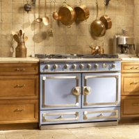 Summer 2016 Kitchen Design: La Cornue Blends Color And Sophistication