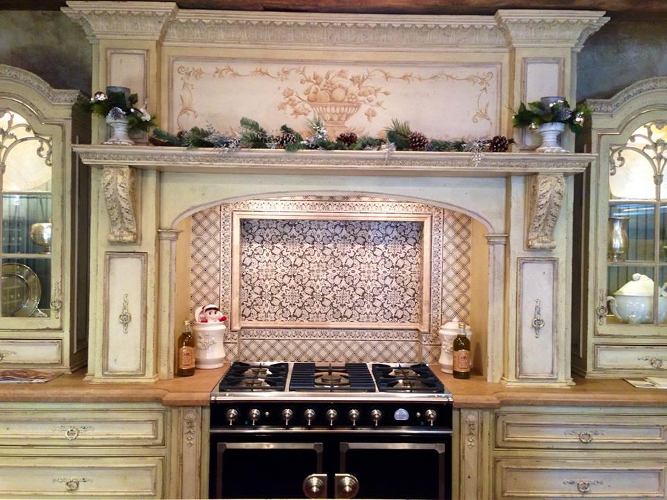 the beautiful habersham display in the peter salerno inc showroom - Habersham Cabinets Kitchen