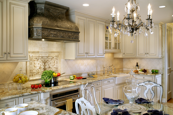 See award-winning kitchen designs on Peter Salerno Inc.'s Pinterest page. (Credit Peter Rymwid)