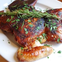 From Peter Salerno's Kitchen: Pollo al Mattone Recipe