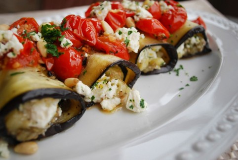 Here's a great eggplant roulade recipe from Epicurious. (Photo: Cooking Planit)