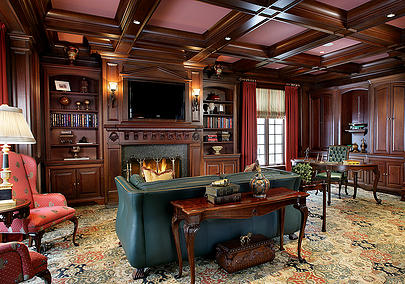 Let Peter Salerno design your custom man cave. (Credit Peter Salerno Inc.)