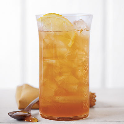 A delicious Ginger and Honey Sweet Tea recipe. (courtesy MyRecipes.com)