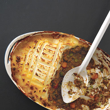 A delicious shepherd's pie recipe from Epicurious. (Photo credit Yunhee Kim)