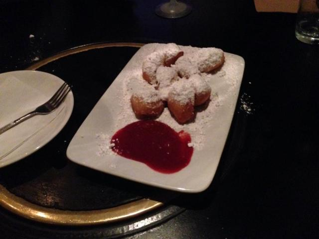 Do Hwa's amazing sugar-dusted beignets were the dessert course.