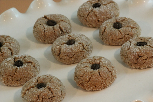 You MUST try this almond coffee Italian Christmas cookie recipe. (Photo credit: Cooking with Nonna)