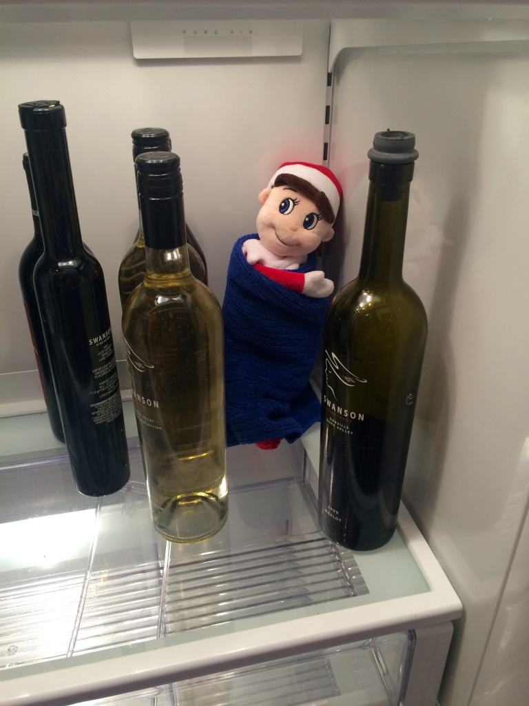 Can you find Elliot the Elf in Peter Salerno Inc.'s showroom?