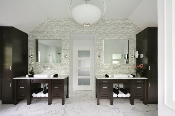 Award-Winning Transitional Bathroom Turns 3 [Design Photos]