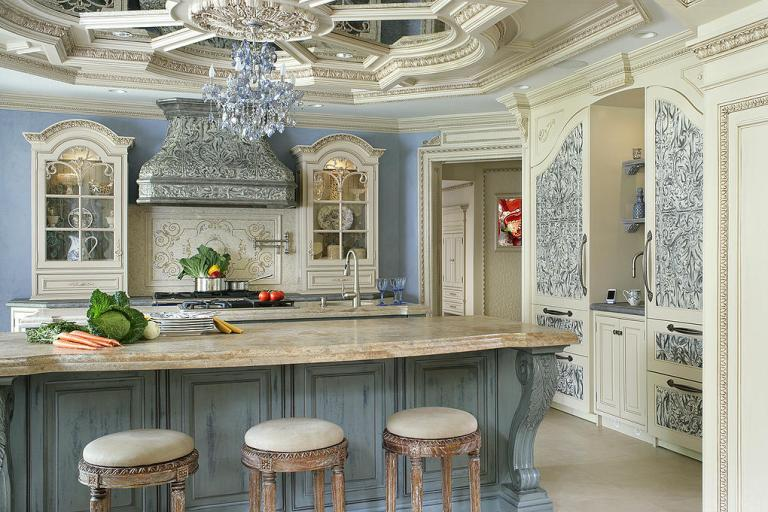 Peter Salerno Inc. 2015 2nd place, Best Large Kitchen, NKBA. (Photo: Peter Rymwid)
