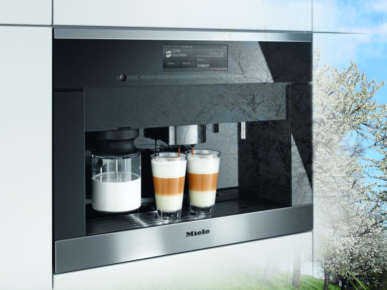 The Miele Generation 6000 coffee maker.