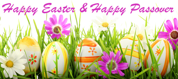 Happy Easter and Happy Passover 2015 from Peter Salerno Inc.!