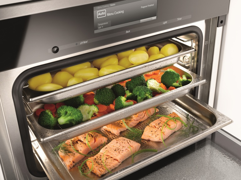 The Miele Combi-Steam oven may be the best oven in the world [Photo credit: Miele USA]