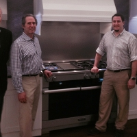 Peter Salerno Visits Miele Showroom in Princeton, NJ [PHOTOS]