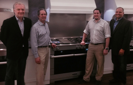 Nick - President of Miele USA, Peter - President of Peter Salerno Inc, Anthony Salerno, Bob - Vice President Miele USA