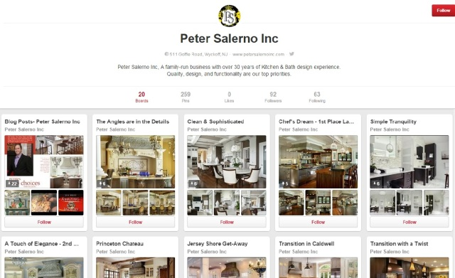 Visit the newly updated Peter Salerno Inc. Pinterest page!