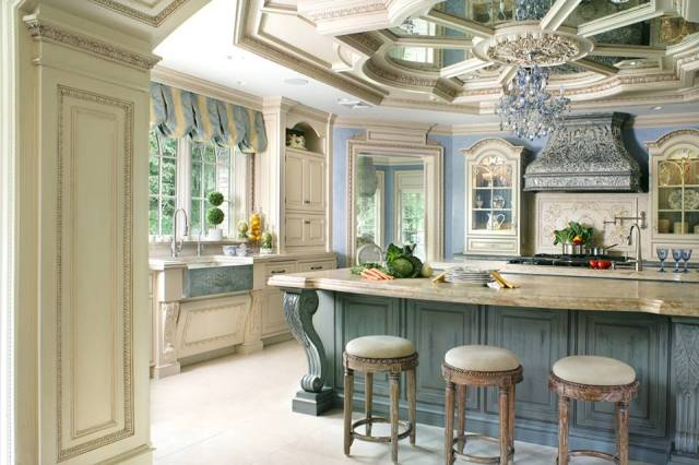 A beautiful Peter Salerno Inc. kitchen design in featured in the NKBA's 2015 Kitchen and Bath Style Report. (Credit Peter Rymwid)