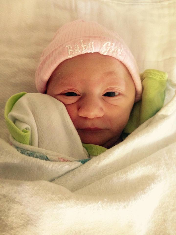 Welcome to the world, Jesse Caren Salerno!