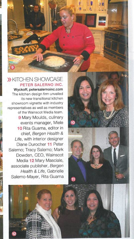 Peter Salerno Inc. is featured in the Feb. 2016 issue of Bergen Health & Life Magazine!