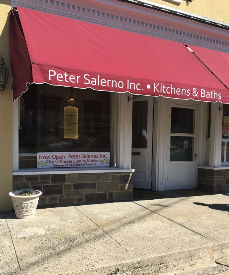 The new Peter Salerno Inc. boutique showroom in Mendham, NJ.