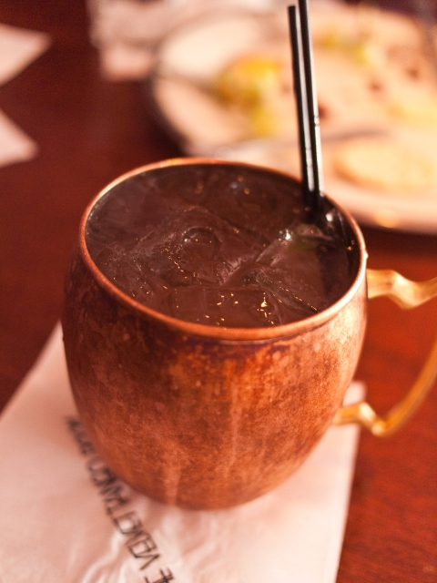A traditional Moscow Mule copper mug makes a unique 2016 Father's Day gift! (Photo: Geoff Lane, Wiki Commons)