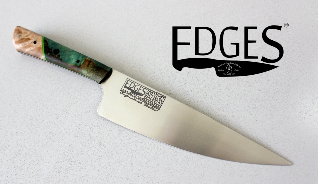 Signature Series w/ Stainless Blade from EDGES Custom Cutlery. Retail $675.