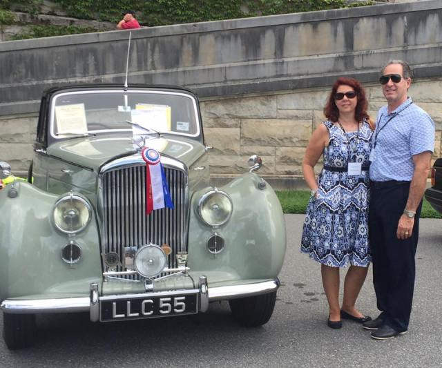 Peter and Tracy Salerno at Rolls Royce Owners Club USA 2016 Event. (Photo: Peter Salerno Inc.)