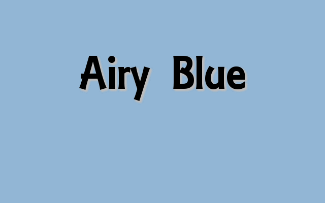 Airy Blue - Pantone Fall 2016 color report