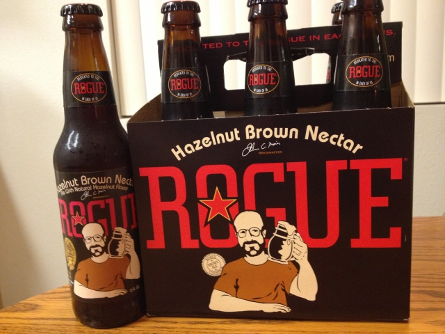 Rogue Hazelnut Brown Nectar Ale - the best hazelnut craft beer on the market.