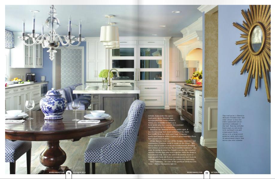 bergen magazine fall edition featuring peter salerno inc kitchen design photos