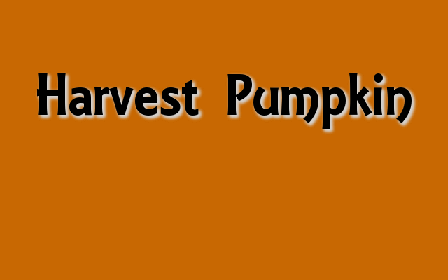 Harvest Pumpkin Pantone color, Halloween party colors