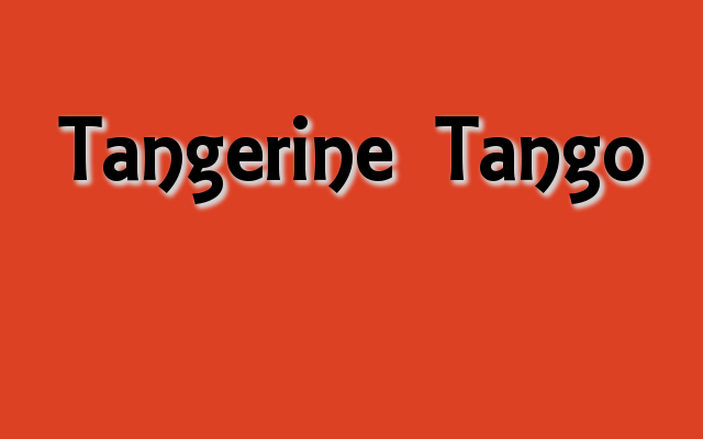 Tangerine Tango Pantone Color of the Year 2014, Halloween party colors