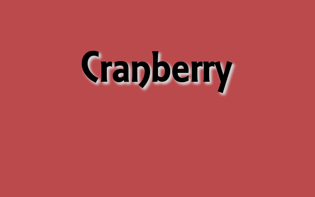 Cranberry Pantone color, Thanksgiving party Pantone colors