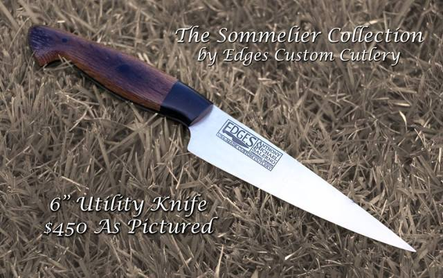 The EDGES cutlery Sommelier collection: the perfect 2016 holiday gift for chefs and wine lovers.