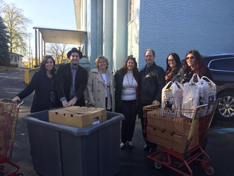 Peter Salerno Inc. donates 100 turkeys a year as part of their Thanksgiving and Small Business Saturday mission.