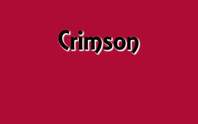 Crimson Pantone color, Christmas 2016 red Pantone colors