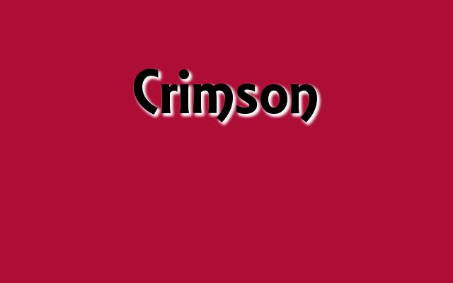 Crimson Pantone color, Christmas 2016 red Pantone colors