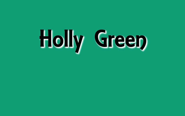 Holly Green Pantone color, Christmas 2016 green Pantone colors