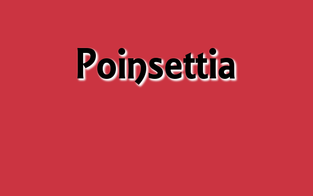 Poinsettia Pantone color, Christmas 2016 red Pantone colors