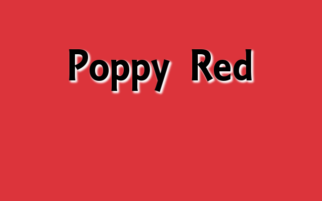 Poppy Red Pantone color, Christmas 2016 red Pantone colors