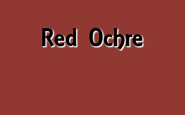 Red Ochre Pantone color, Christmas 2016 red Pantone colors