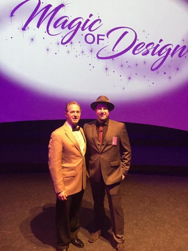 Peter Salerno and Anthony Salerno at the KBIS Magic of Design dinner.