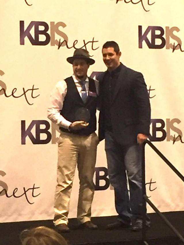 Anthony Salerno (of Peter Salerno Inc.) at the NKBA 30 Under 30 presentation, KBIS 2017.