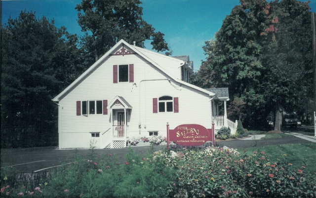 The final outside view of Peter Salerno Inc.'s first 1997 design showroom.