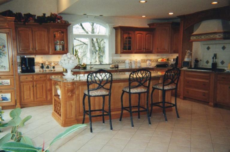 The original front display kitchen in Peter Salerno Inc.'s first design showroom!